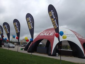 Tent event sale